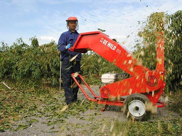 果园树枝粉碎机